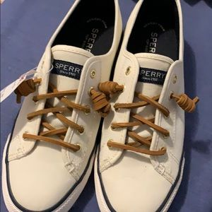 Brand new with tags White Sperrys